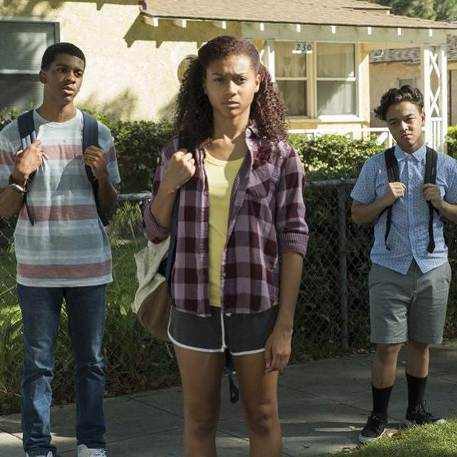 [Artist Name] Instagram - ON MY BLOCK big shouts @netflix